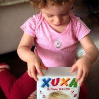 Al igual que ella, su retoño también crece con la música de Xuxa. Foto:vía instagram.com/julianabaronj