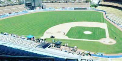 Estadio de béisbol de Los Dodgers de Los Ángeles, California, Estados Unidos. Foto:vía instagram.com/thegirlinspired