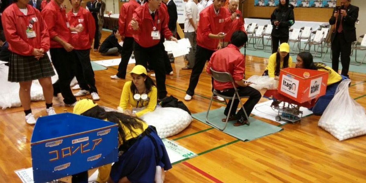 Colombia ganó el segundo lugar en Japón en competencia de robótica