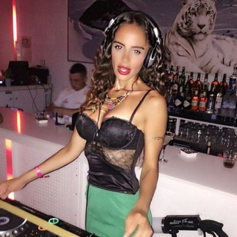 ¡Toda una DJ! Foto:Vía Instagram/@djellissexton