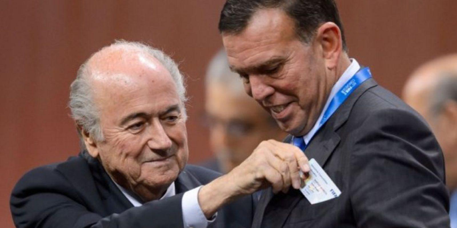 Juan Ángel Napout. Paraguayo, presidente de la Conmebol desde agosto de 2014 Foto:Getty Images