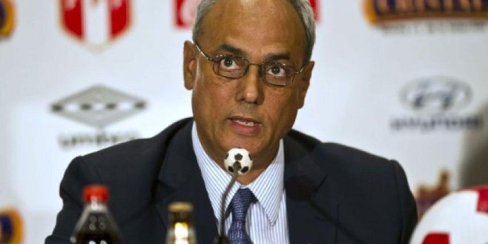 Manuel Burga. Peruano, ex presidente de la Federación Peruana de Fútbol, Foto:Getty Images