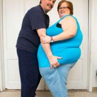 """Gayla es canadiense, tiene 52 años y se metió a un foro de """"feederistas"""". Bulge Chat. Foto:vía Barcroft Media"""