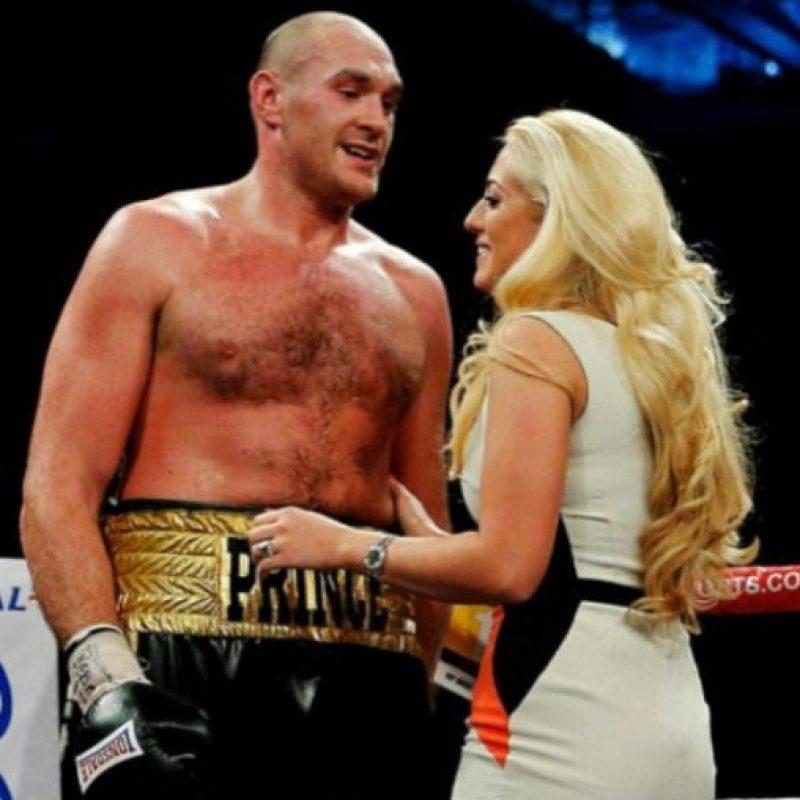 Paris Fury es la pareja del campeón Tyson Fury Foto:Via instagram.com/parisfury1