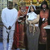 Kim Kardashian confesó que sabía de su embarazo desde su visita a Jerusalén Foto:vía instagram.com/kimkardashian