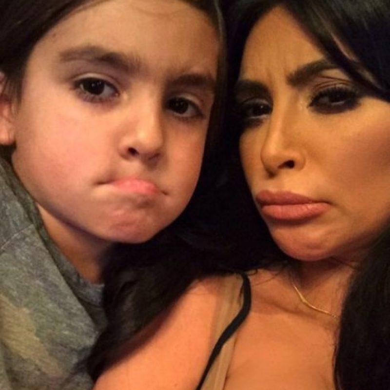 Ahora tiene cinco años Foto:vía instagram.com/kimkardashian