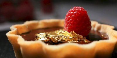 2. Hoja de oro comestible. Este producto sirve para dar un estilo único a los alimentos y bebidas Foto:Vía ediblegold.co.uk