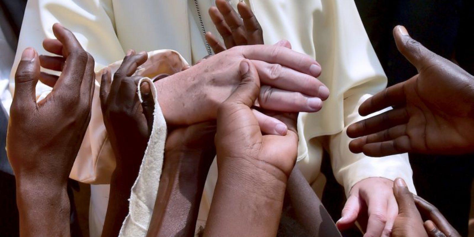 Visita del Papa Francisco a África. Foto:AFP
