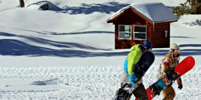 Ustedes encontrarán un paisaje lleno de nieve. Foto:Vía Flickr