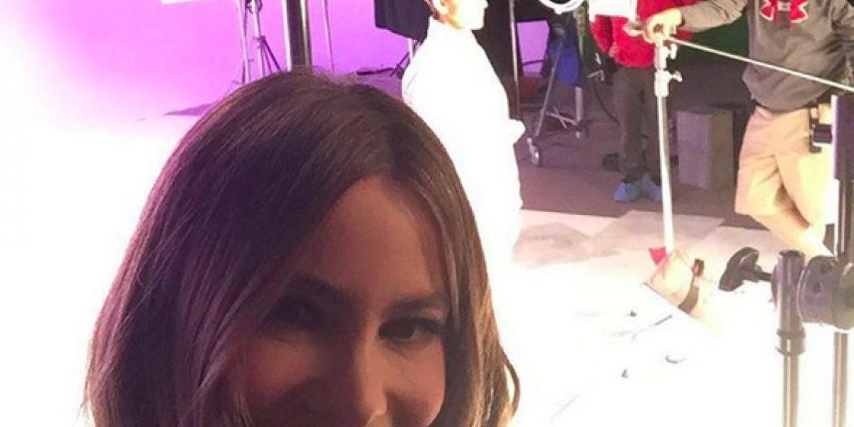 Sofía Vergara cantó un villancico en el show de Ellen DeGeneres