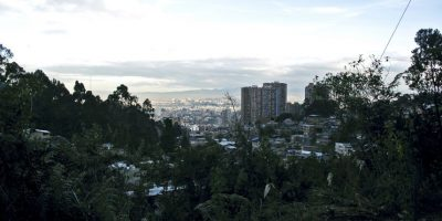 A la vista de la localidad de Chapinero, en los cerros orientales, queda la Quebrada Las Delicias Foto:Carlos Bernate – Publimetro