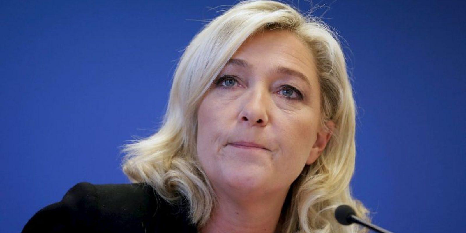 Es hija del anterior presidente del Frente Nacional, Jean-Marie Le Pen. Foto:Wikicommons