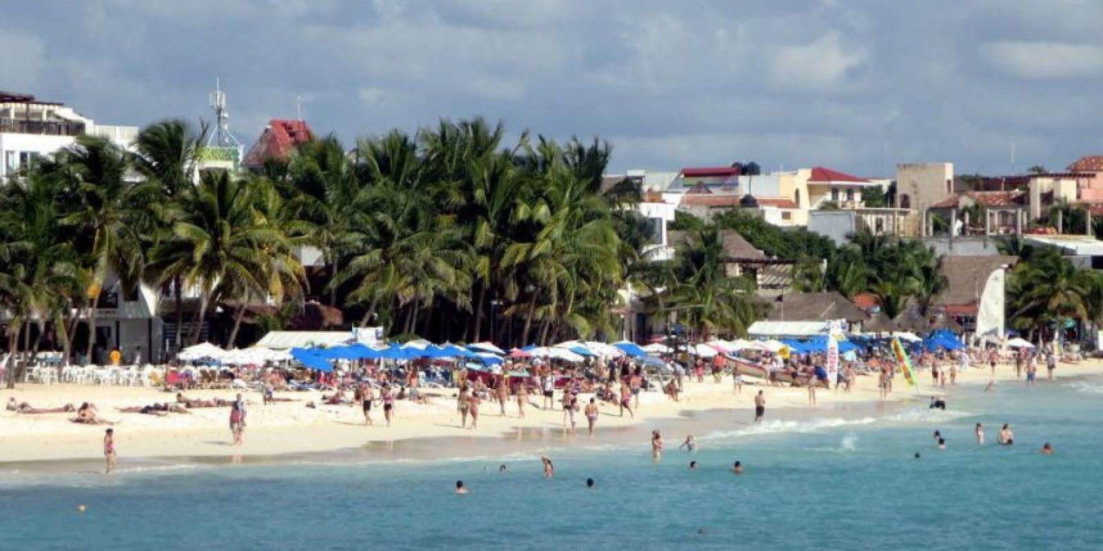 5. Playa del Carmen, México. Foto:Vía Flickr