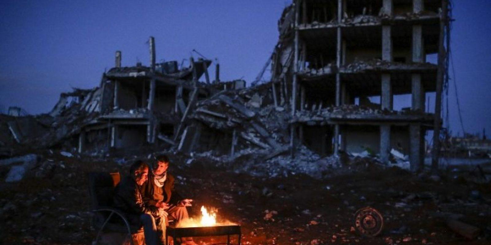La vida en Siria en cuatro años de guerra Foto:AFP