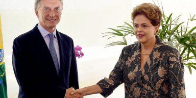 También se reunió con Dilma Rousseff, presidenta de Brasil Foto:AFP