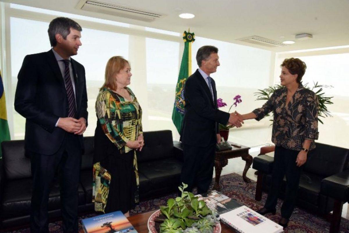 """Expresó que """"confía plenamente en las instituciones de Brasil"""", país que definió como """"fuerte y sólidot"""" Foto:AFP"""