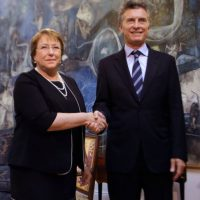 Donde pidió darle vitalidad al Mercosur Foto:AFP