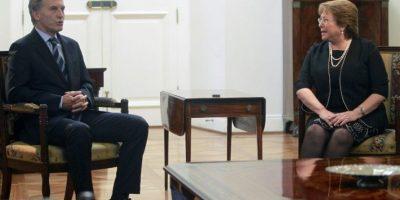 """""""Juntos en la región vamos a tener más capacidad de insertarnos"""", dijo en conferencia de prensa Foto:AFP"""
