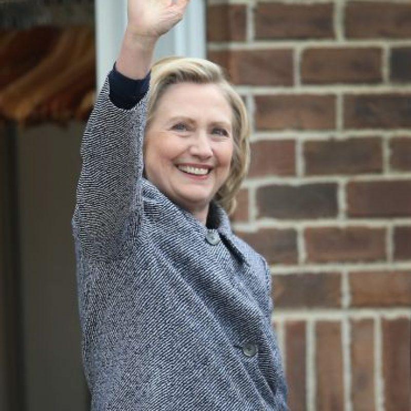 Clinton es percibida por el 60% de los votantes estadounidenses como poco fiable. Foto:Getty Images