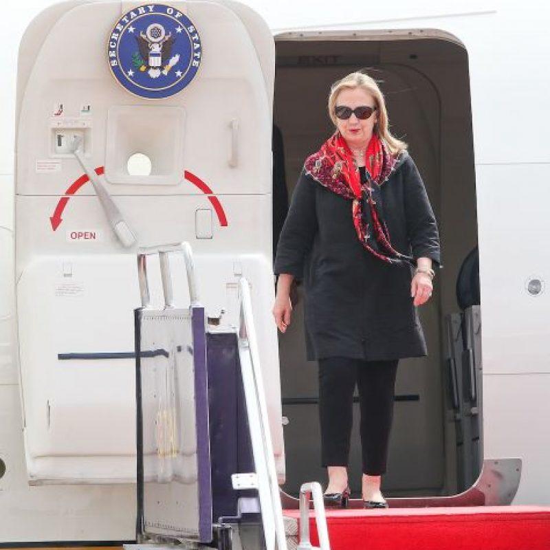 Clinton también supera a Trump con un 47% y él con un 41% del apoyo. Foto:Getty Images