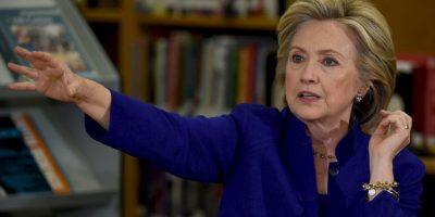 En la encuesta de la Universidad de Quinnipiac Hillary Clinton obtuvo la ventaja con un 60%. Foto:Getty Images