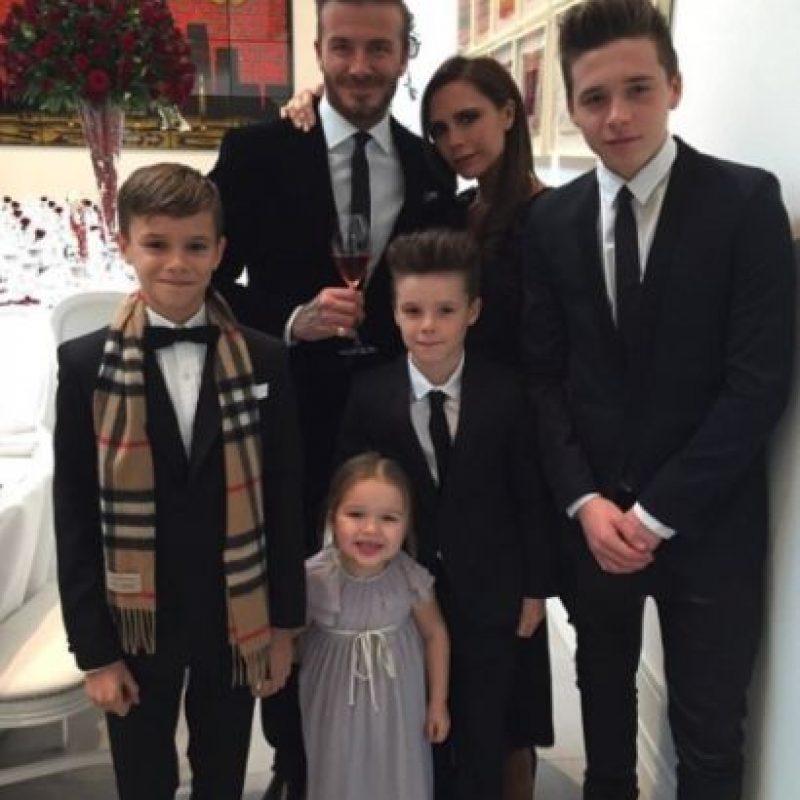 Así están ahora los hijos de Victoria. Foto:vía instagram.com/davidbeckham