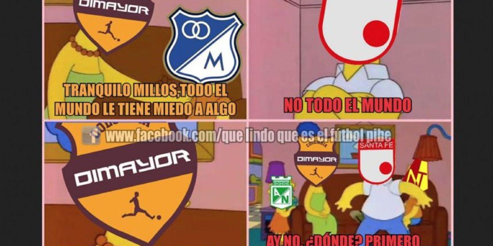 Foto:Tomado del Facebook 'Qué lindo que es el fútbol pibe'.