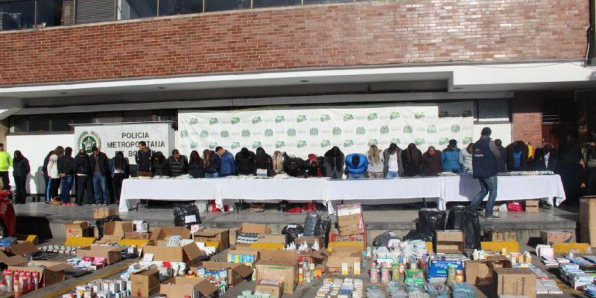 Desmantelan red de medicamentos falsificados en Bogotá