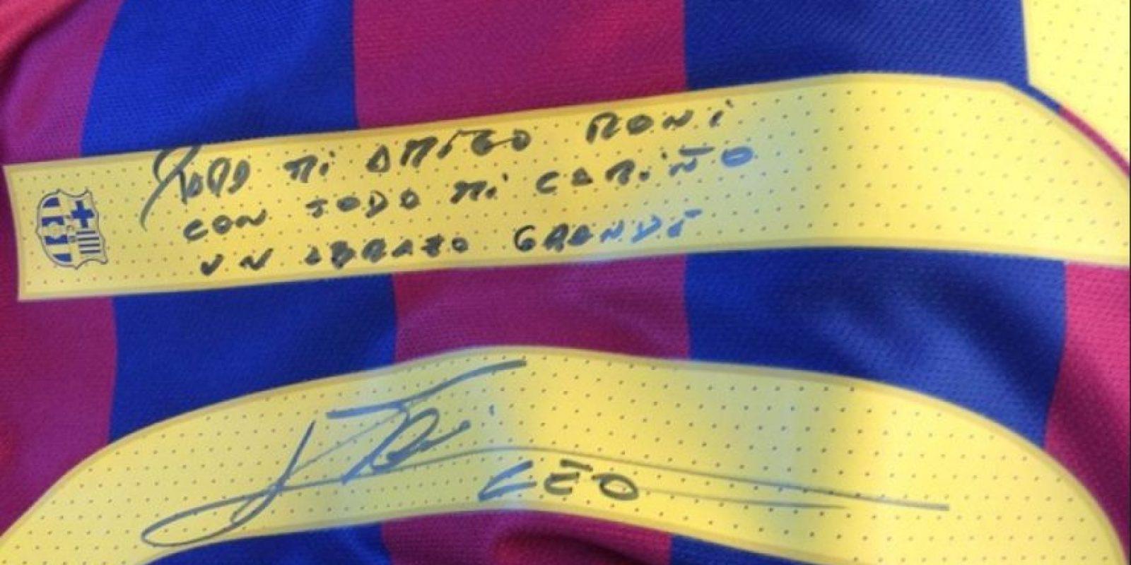 Foto:Cortesía Fútbol Club Barcelona.
