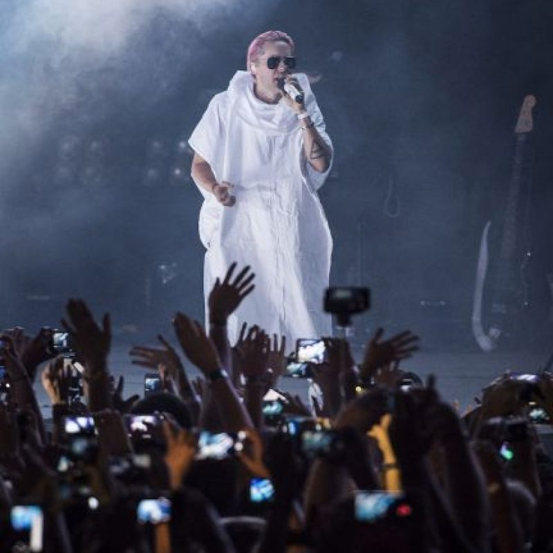 4. Durante un concierto con su banda 30 seconds to Mars, una fan le rompió la nariz. Foto: Getty Images