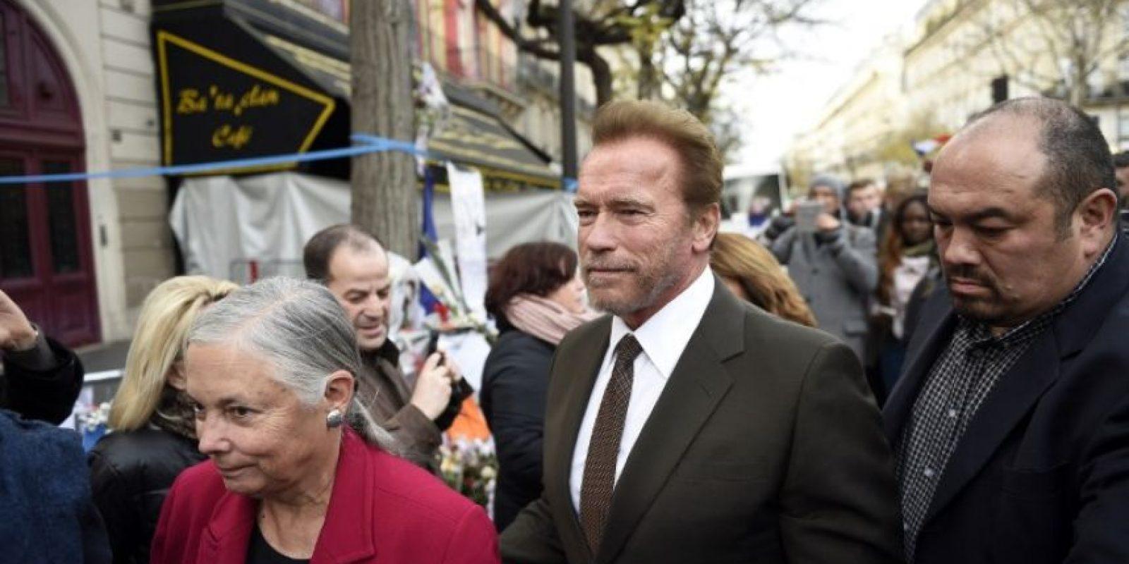 Arnold Schwarzenneger Foto:AFP