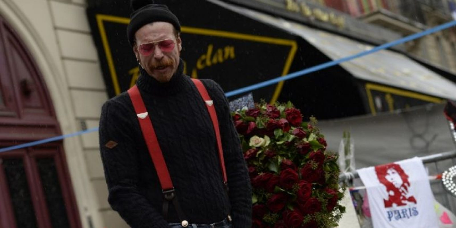 90 personas murieron en la sala de conciertos Foto:AFP