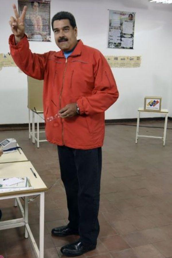 """Nicolás Maduro asumió como presidente de Venezuela el 19 de abril de 2013, tras las reñidas elecciones del 14 de abril, en las que ganó representando a la coalición """"Gran Polo Patriótico"""". Foto:AFP"""