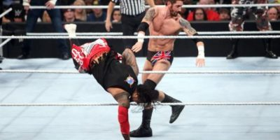 The Dudley Boyz está formado por los hermanos Bubba Ray Dudley y D-Von Dudley y pelearon junto con Tommy Dreamer y Rhyno. Foto:WWE