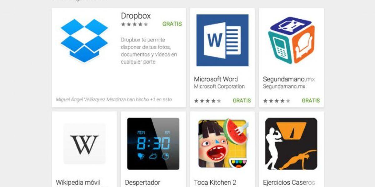 Las 50 mejores aplicaciones del 2015 según Google