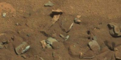 Se descubrió en agosto de 2014 Foto: http://mars.jpl.nasa.gov/msl-raw-images/msss/00719/mcam/0719MR0030550060402769E01_DXXX.jpg