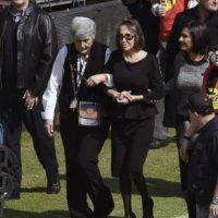 """La actriz que interpretó a """"Doña Florinda"""" le dijo adiós a su pareja con unas """"conmovedoras"""" palabras. Foto:vía facebook.com/estadioazteca"""