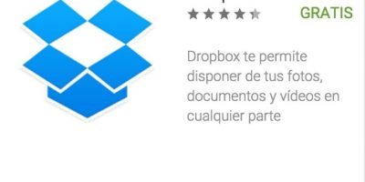 2- Dropbox. Uno de los servicios de almacenamiento en la nube más famosos del mundo. Foto:vía Google