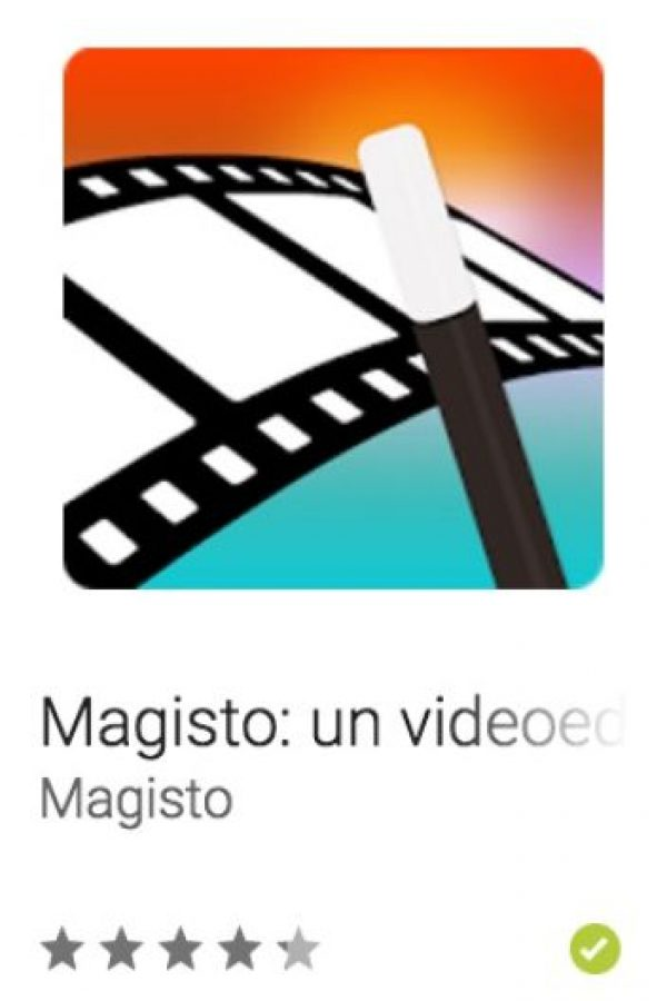 16- Magisto: un videoeditor mágico. Los ayuda a convertir los momentos de cada día en minipelículas inolvidables, al completo, con efectos especiales y música, en un solo clic. Foto:vía Google
