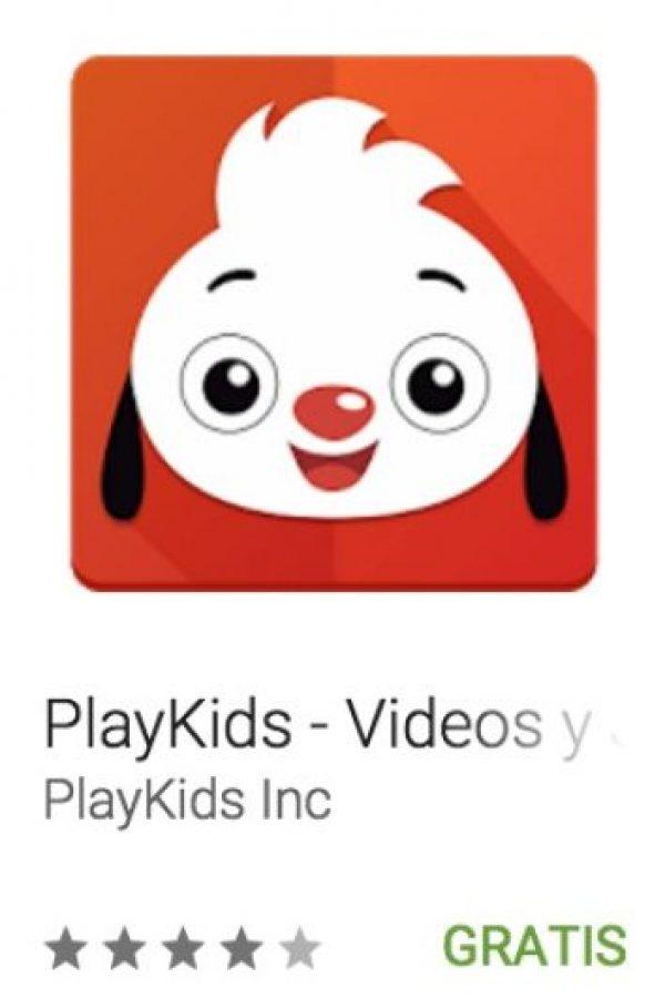 22- PlayKids – Videos y Juegos! Juegos educativos para niños con personajes adecuados para cada edad en una interfaz divertida y amigable para los niños.. Foto:vía Google