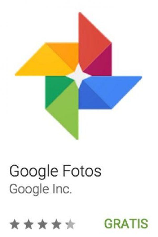 23- Google Fotos. Es la app de Google para guardar sus fotos y videos, la cual los organiza automáticamente para encontrarlos con mayor rapidez. Foto:vía Google