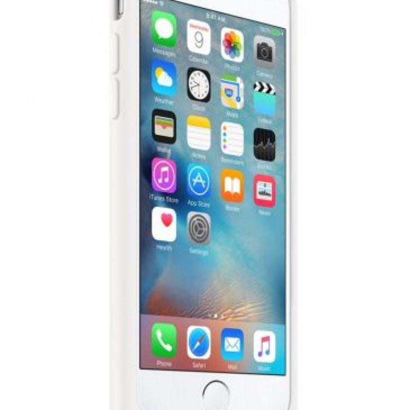 Muestra el estado de la batería inteligente en la pantalla de bloqueo y en el Centro de Notificaciones para que sepas exactamente cuánta le queda. Foto:Apple