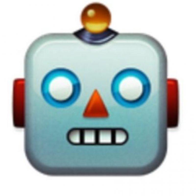 Robot. Foto:vía emojipedia.org