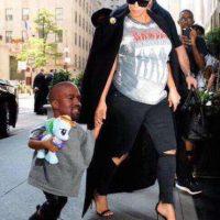 O como el clon de Kanye West. Foto:vía twitter.com