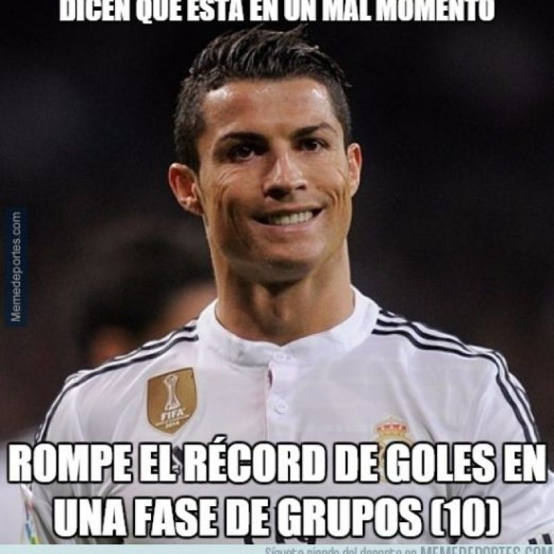Con gran actuación de Cristiano Ronaldo. Foto:memedeportes.com