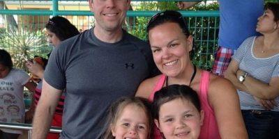 Courtney Solstad tiene tres niñas y quería desde hace rato otro hijo. Foto: vía Facebook/Court4jc