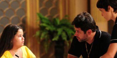 """Hizo que """"Tifón"""" creyera que era su padre. Este la quería mucho. Foto:vía Globo"""