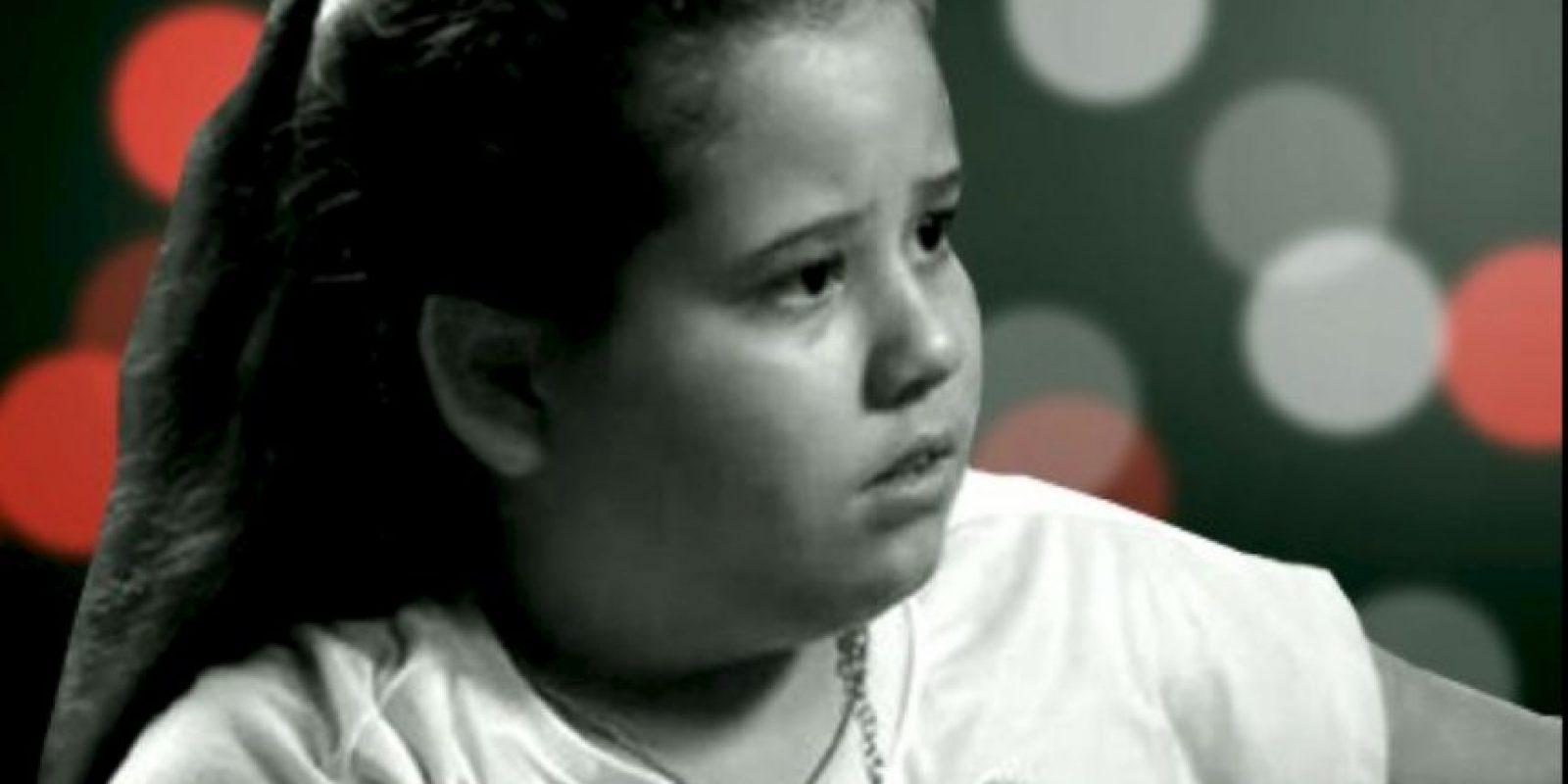 El personaje fue interpretado por Ana Karolina Lannes, de ahora 15 años. Foto:vía Globo