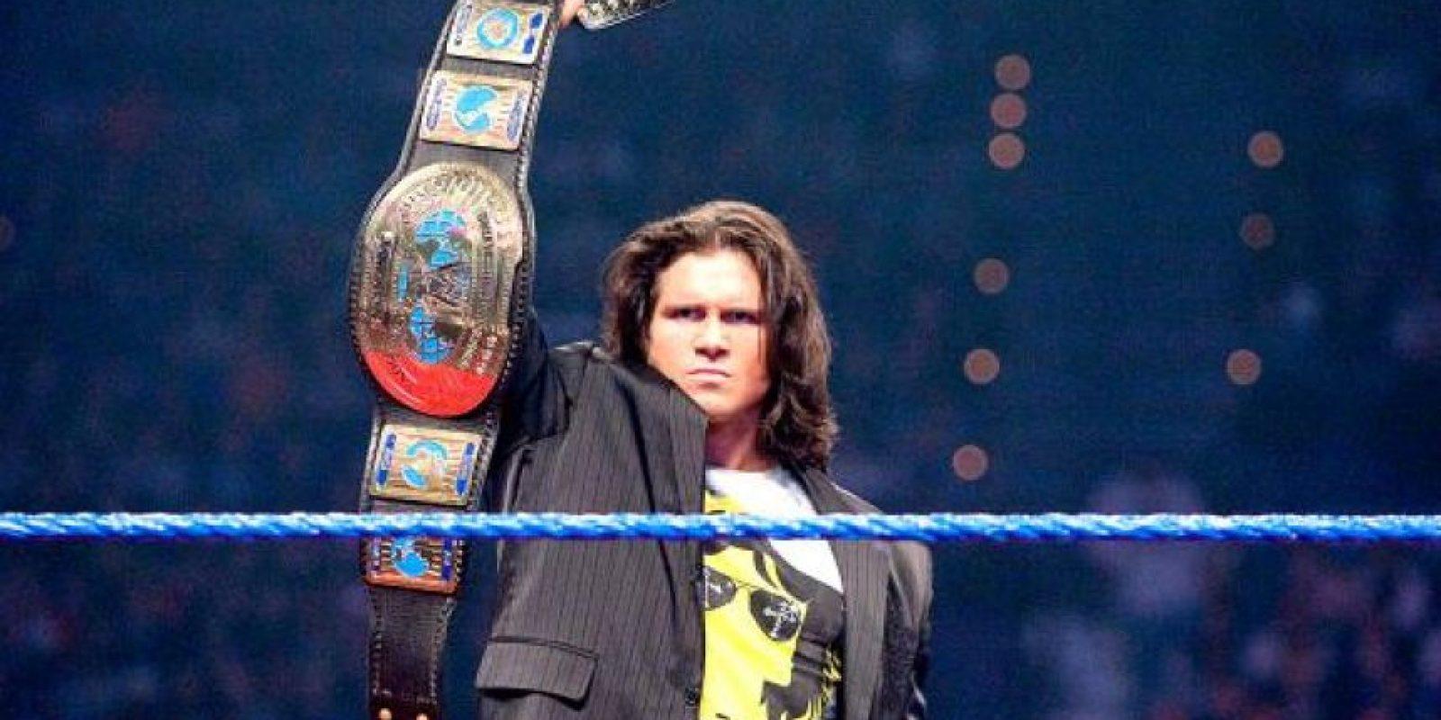 Morrison tiene un título de parejas de la WWE, además de un título Intercontinental de la WWE y otro de la ECW. Foto:WWE