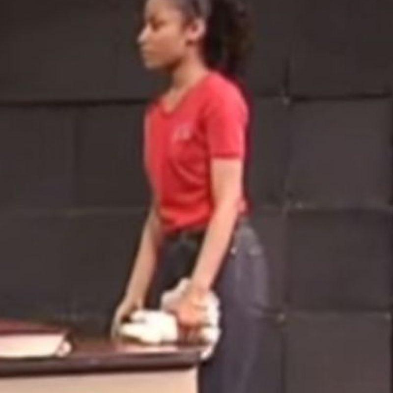 Se inició como actriz de teatro Foto:vía youtube.com